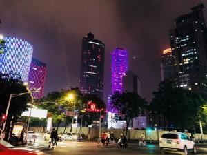 【雅】茜ちゃんの夜の南京町景色
