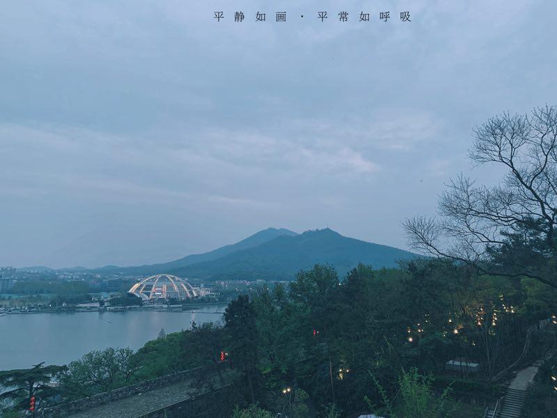 【雅】秦菲ママの九華山公園の観光